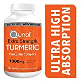 The POWER OF CURCUMINOIDS: Turmeric provides one of nature's best kept secrets, curcuminoids, a group of antioxidants that have strong, natural anti-inflammatory benefits  [1] SUPERIOR ABSORPTION: Qunol's Extra Strength Turmeric Curcuimin complex has...