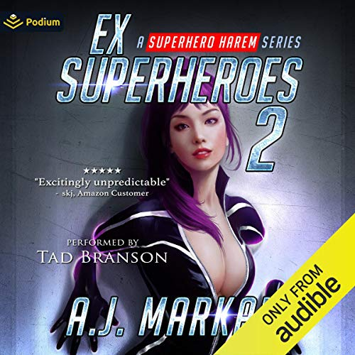 Ex-Superheroes 2 cover art