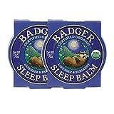 Badger - Sleep Balm, Lavender & Bergamot, Natural Sleep...