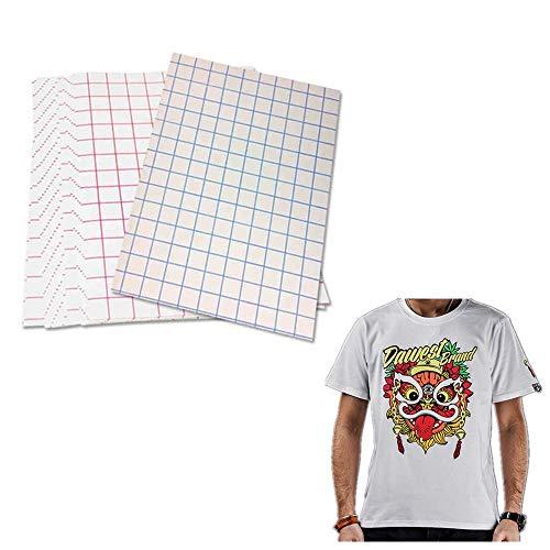 30 fogli di carta trasferibili per magliette, per stampanti a getto d'inchiostro, dimensioni 21,6 x 27,9 cm