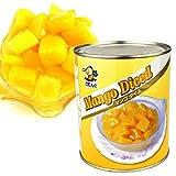 国華園 マンゴー (ダイス)・2号缶 1缶1組 (内容総量825g) マンゴー 缶詰