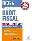 DCG 4 Droit fiscal - Manuel - 2020/2021 - 2020/2021 (2020-2021)