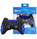 Controle Dualshock Sem Fio Pc Ps1 Ps2 Ps3 4x1 Bluetooth