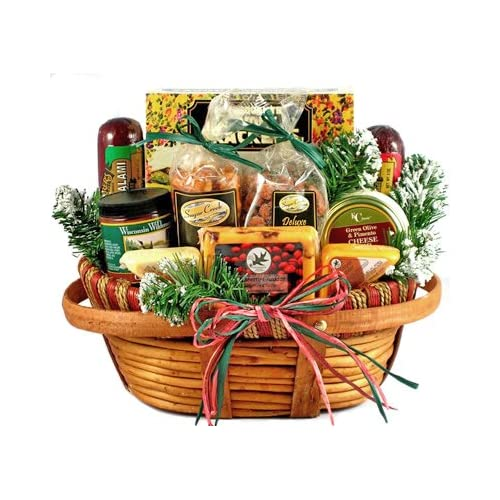 Christmas Hamper Basket.Christmas Hamper Amazon Com