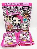 GS1 LOL 2 Surprise Let's be Friends Collection Álbum + 50 sobres de figuras Panini Stickers L.O.L.