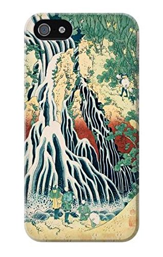Hokusai Kirifuri Waterfall at Kurokami Mountain in Shimotsuke Case Cover Custodia per IPHONE 5 5S SE