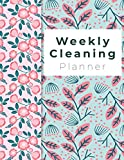 Weekly Cleaning Planner: Spring Flowers Cover, Home Cleaning, Household Chores List, Cleaning...