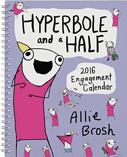 Hyperbole and a Half 2016 Engagement Calendar product image