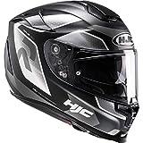 R70GBM - HJC RPHA 70 Grandal Motorcycle Helmet M Black (MC5SF)