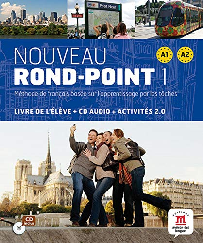 Nouveau Rond-Point 1 - Livre élève + CD: Noveau Rond Point 1 Livre de l'élève + CD (Fle- Texto Frances)