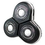 Trade-Shop Compatible con cabezal de afeitado Philips SensoTouch 3D RQ1265CC RQ1270 RQ1275 RQ1275CC RQ1280 RQ1280CC con tapa protectora