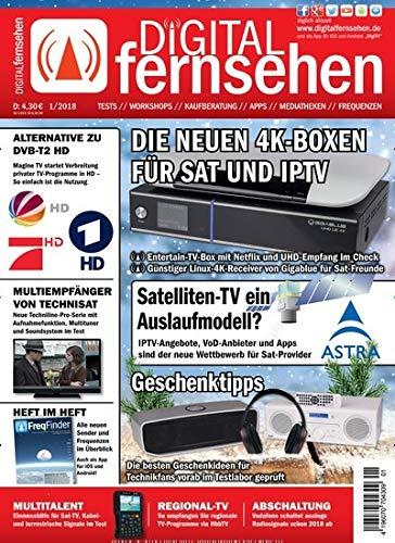 """Digital Fernsehen 1/2018 \""""Die neuen 4K-Boxen\"""""""