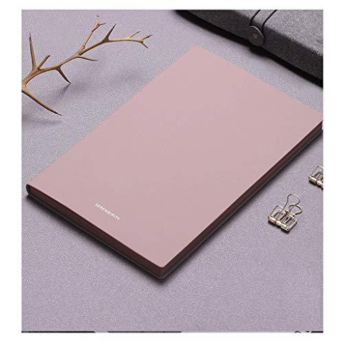 cuadernos de notas Horizontal línea rayada y la línea en blanco - 8.2x5.6 cuero de la cubierta for la escritura Nota A5 Soft Cover Tapa dura portátil, con líneas anchas 192 páginas blocs de notas