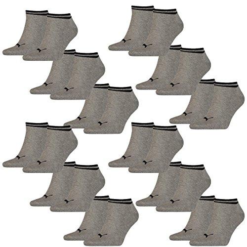 PUMA Unisex Sneaker Heritage 12er Pack, Größe:39-42, Farbe:Grey (400)