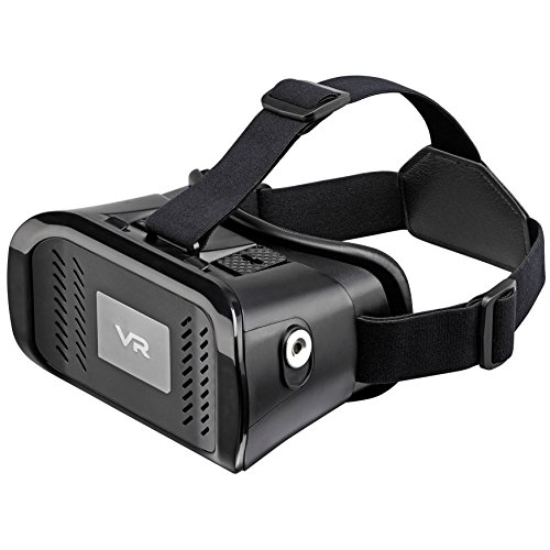 GOJI Universal VR 3D Virtual Reality Headset for Movies and Games - Apple iPhone 5/ SE/ 6/ 6S/ 7 and 6 Plus/6S Plus/ 7Plus and Android Devices Samsung, HTC, Motorola, Sony