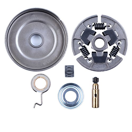 Worm Gear Oil Pump Washer Needle Bearing 3/8-7T Clutch Drum Kit For STIHL 025 MS210 MS230 MS250 017 018 MS170 MS180 170 180 021 023 Chainsaw