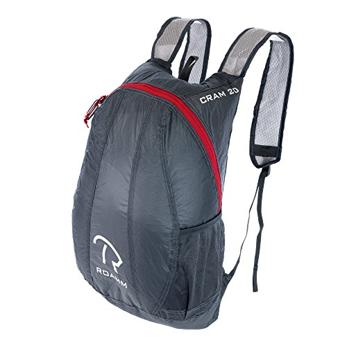 Roamm Cram 20 Ultralight Packable Backpack + Lightweight 3.5oz Bag Perfect for Camping, Hiking, Backpacking, and Outdoors for Men or Women