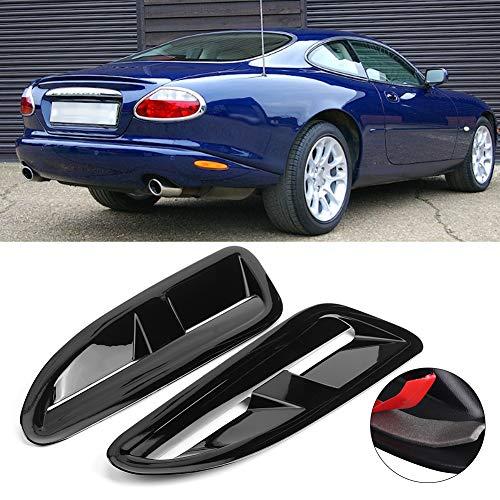 SANON Auto Abs Kunststoff Motorhaube Entlüftung Auto Modifizierte Teile Passt für Jaguar = Xkr Xk8