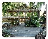 Mauspad - Pavillon Deck Schatten Terrasse Bäume Entspannung im Freien