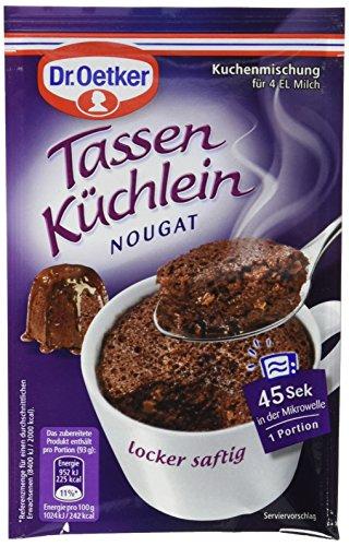 Dr. Oetker Tassenküchlein Nougat, 12er Pack (12 x 53 g)