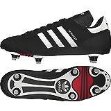 adidas Originals 011040, Botas de fútbol Hombre, Noir Blanc, 44 2/3 EU