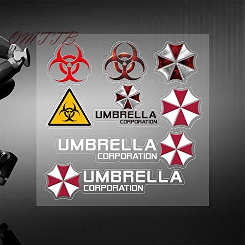 Auto StylingPersonalisierte Aufkleber Umbrella Corporation Autotür Windows Auto Aufkleber Aufkleber für BMW Kia Zubehör