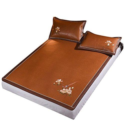 Liuyu · Plus épais siège de rotin de siège trois ensembles de lit de 1.8m d'été 1.5 mètres tapis de pli de soie de glace de Guteng sûr et aucun glitch, approprié à tous les âges ( taille : 150*195cm )