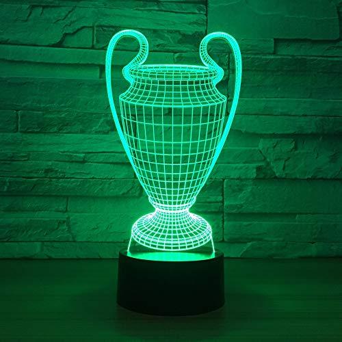 Fun 12 cm avec Gravure Gratuite jusqu/'à 30 lettres Football Trophy Cup Kids