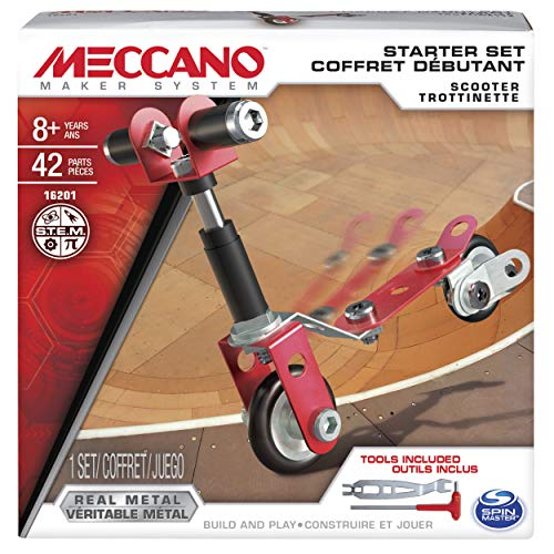 MECCANO Starter Set Scooter 42 Piezas