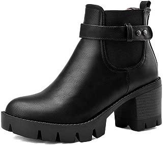 BalaMasa Womens ABS13907 Pu Boots