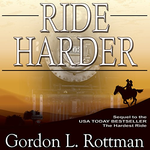 Ride Harder audiobook cover art