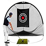 Best Golf Practice Nets - Galileo 8'x7'x7' golf Hitting Net/golf net/Tri-poled shape golf Review