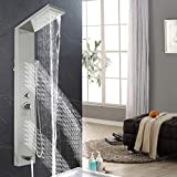 Happybuy Shower Panel System 5 in 1 shower tower...