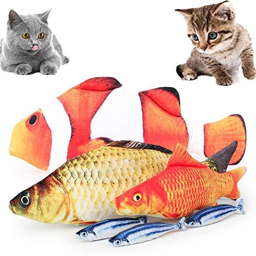huahuajia Juguetes Interactivos para Gatos Almohada para Gatos Gato Cosas para Gatos Rueda Ejercicios Cosas De Gatos c,20cm