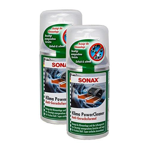 SONAX 2X 03231000 KlimaPowerCleaner Klimaanlage Reiniger Antibakteriell 100 ml