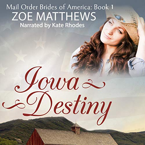 Iowa Destiny audiobook cover art