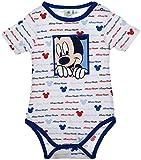 Mickey Mouse - Body - para bebé niña Turquesa 23 Meses