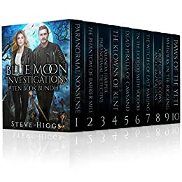Blue Moon Investigations Ten Book Bundle