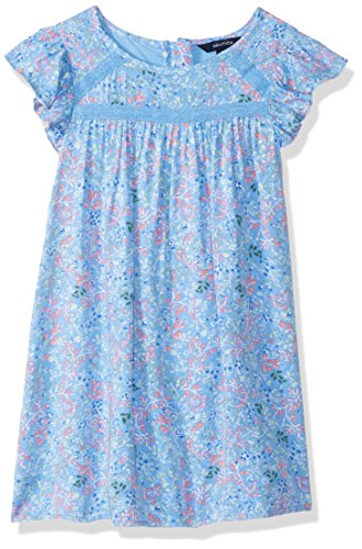 Nautica Girls' Short Sleeve Fashion Dress