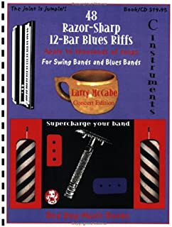 48 Razor-Sharp 12-Bar Blues Riffs for Swing Bands and Blues Bands: C Instruments Edition
