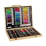 DUESI Juego de caja de madera pintada profesionalmente, una variedad de colores, diseño aerodinámico se puede utilizar como regalo
