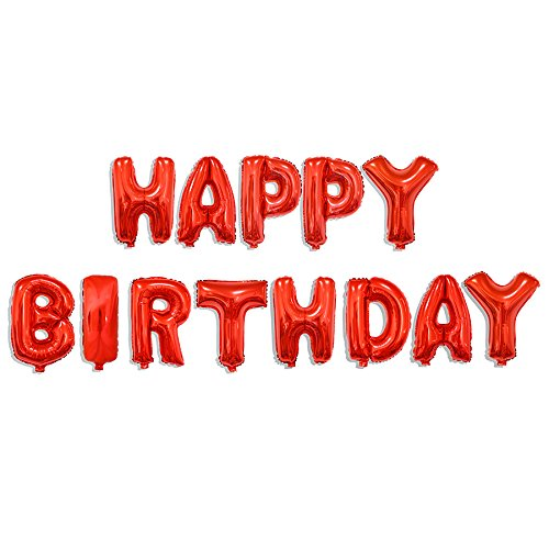 Smart Decorativa 40cm Happy Birthday 52280Azul Globo Aire cumplimiento