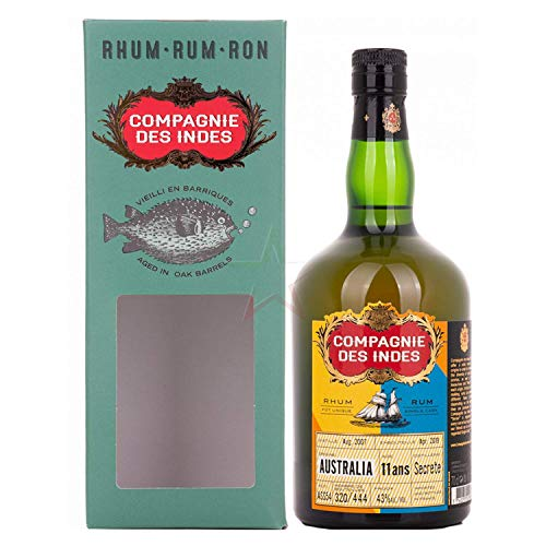 Compagnie des Indes Compagnie Des Indes Australia Rum 11 Ans 43% Vol. 0,7L In Giftbox - 700 ml