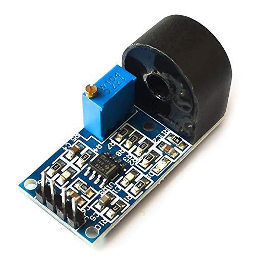 ARCELI 5A-Bereich Einphasen-Wechselstrom-Aktivausgang Integrierter Präzisions-Mikrostromwandler-Modul-Stromsensor für Arduino