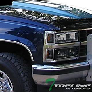 Topline Autopart Black Head Lights Headlights Dy + Turn...