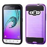 Samsung Galaxy J1 Case, Samsung Amp2 2016 Case, NEM Brushed Impact Resistant...