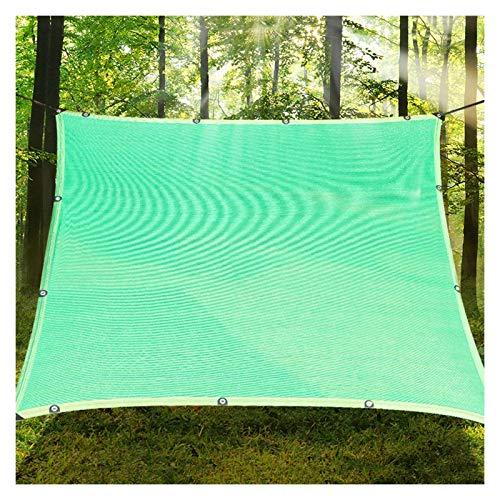 LSSB Personalizable Paño de Sombra de Jardín HDPE Anti-UV Blanco Velas de Sombra para La Cubierta De La Planta, Patio, Vale De Balcón, Sombrilla De Coche, Invernadero (Color : Green, Size : 2x3m)