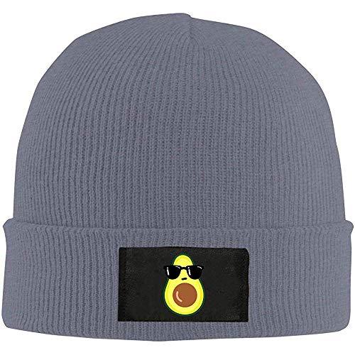 Gebreide cuffed beanie cap, cartoon avocado unisex gebreide muts cap, Hedging winter buiten warme hoeden solide kleur