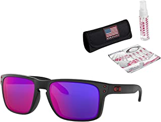 Oakley Holbrook Sunglasses with USA Flag Lens Cleaning Kit