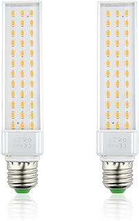 LED Fish Tank Light, 13W E26 Medium Screw Base PLC Rotatable Aquarium Light